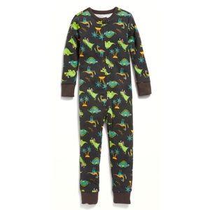 5T Old Navy Footless Sleeper Onesie Dinosaur PJ's